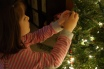 Campbell is such a big helper now. She helped me decorate the tree this year!
