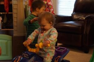 Baby 4-wheeler